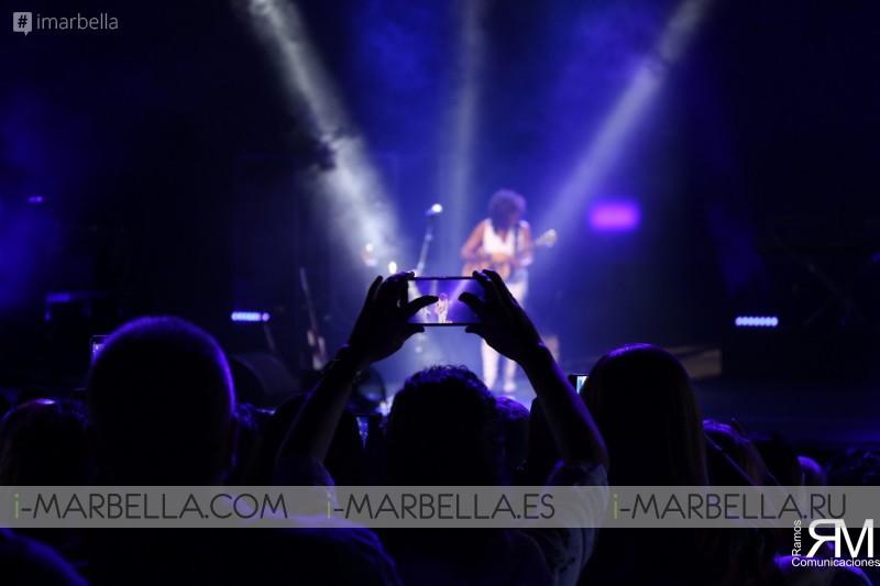 Rosario and Rosana at Starlite Festival - 2018