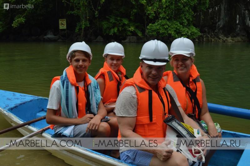 Annika Urm Blog: Palawan Underground world longest river and Private Arena Island