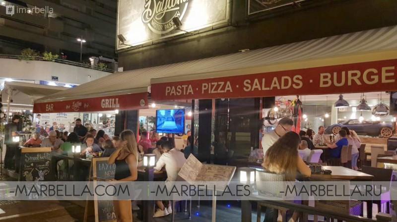 Daytona Motor Passion - Good Food Great Atmosphere in Puerto Banus July 2018