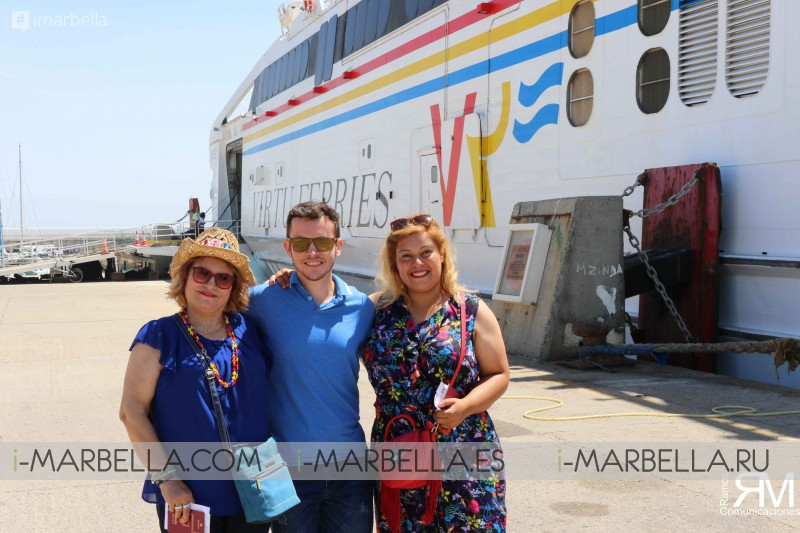 Intershipping takes Ramos Comunicaciones VIPs from Spain to Morocco 2018