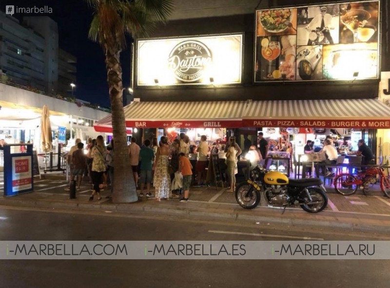 Daytona Motor Passion - Buena comida Gran ambiente en Puerto Banus Julio de 2018