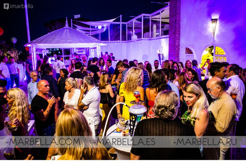 Nearly 400 people at the BohoChic Opening Cocktail of MOMA Food & People @ Puerto Banús, July 2018 - Gallery