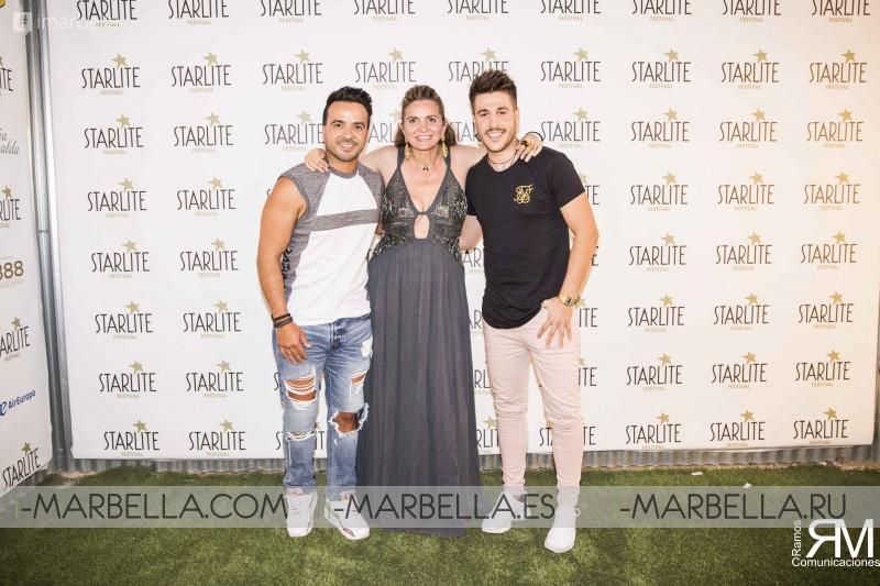 Meet&Greet con Luis Fonsi y Antonio José en StarliteFestival 2018