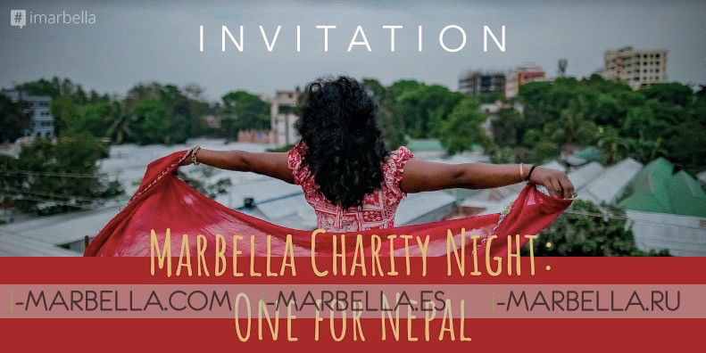 One For Nepal Marbella Charity Night @Cascada Cocina & Bar - August 13, 2018