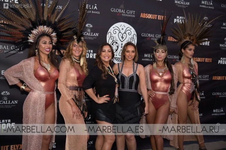 Global Gift Party celebrated at @Playa Padre to receive the Global Gifters July 2018 Gallery