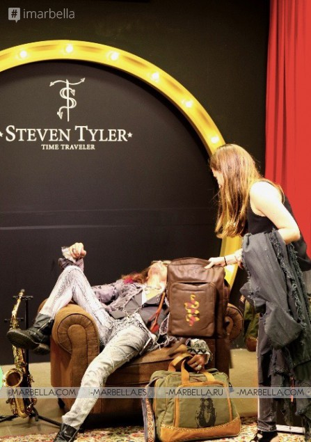 Steven Tyler presents New Travelling Collection in Marbella August 1, 2018