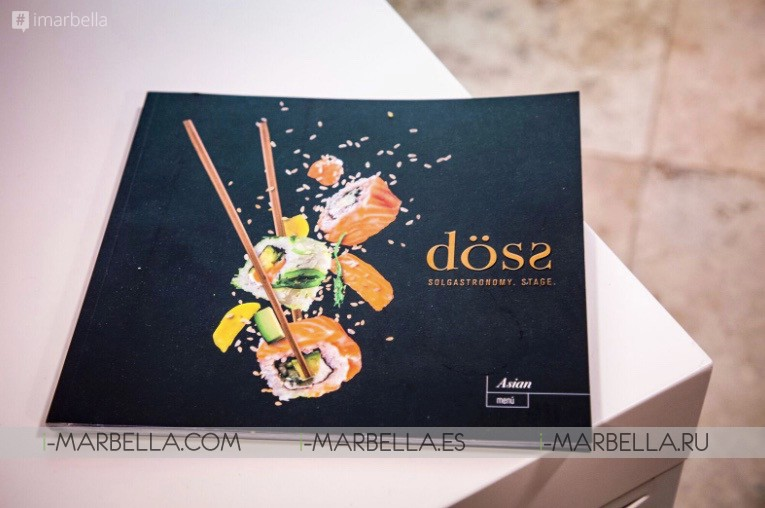 Döss Restaurant New Concept arrived in Marbella - August 2018
