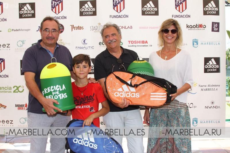 Finaliza el IV Torneo Benéfico de Pádel a favor de Infancia sin Fronteras @ Marbella, Agosto 6, 2018 - Galería