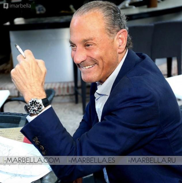 Oscar Horacio is celebrating 20 years of his Golden Book ''Los Cien'' Interview @Marbella 2018