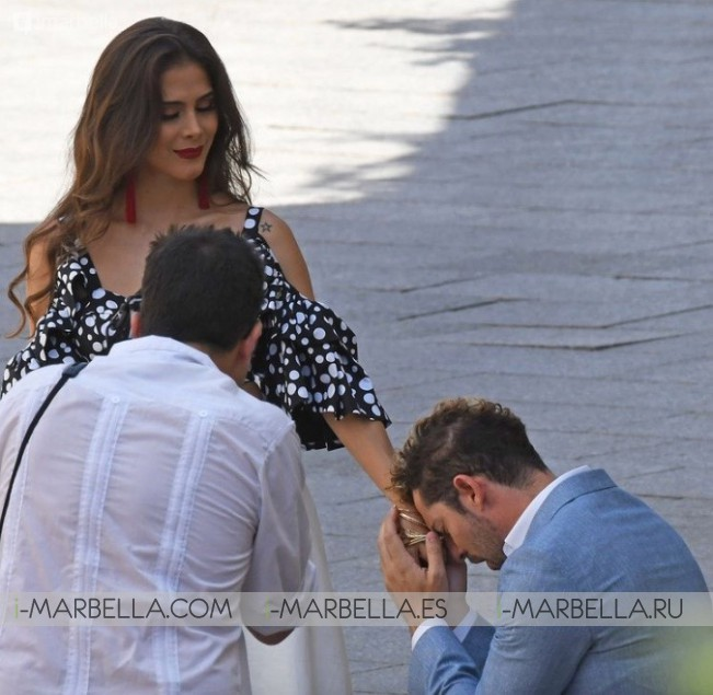 Marbella becomes David Bisbal scenario for a new video clip August 2018 Gallery