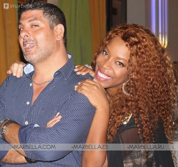 THE YANELA BROOKS SHOW CONCERT in Marbella with top Spanish celebrities August 2018