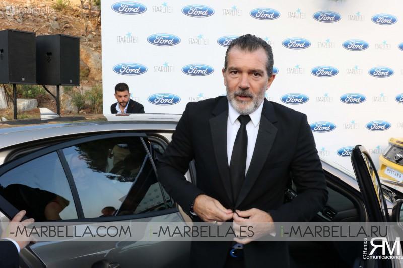 Red Carpet with Juanes, Antonio Banderas, Sandra García-San Juan, Nicole Kimpel, Anne Igartiburu,  @StarliteGala 2018