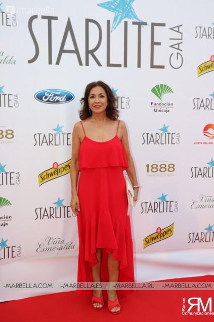 Antonio Banderas, David Bisbal, Juanes and Sandra García-San Juan at IX Starlite Gala @Marbella August 2018 Gallery