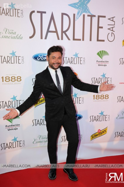 Antonio Banderas, David Bisbal, Juanes and Sandra García-San Juan at IX Starlite Gala @Marbella August 2018 Gallery