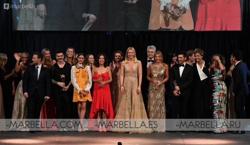Yanela Brooks, Frank Camelot, Patricia Nahmad, Noelia Thames entre otros premiados en Marbella Awards 2018 @ Bless de Starview Magazine