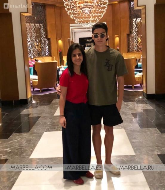 Salman Yousra Romantic Getaway in Marrakech September 2018