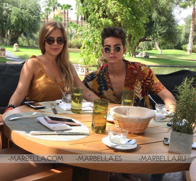 Salman Yousra Romantic Getaway in Marrakech September 2018