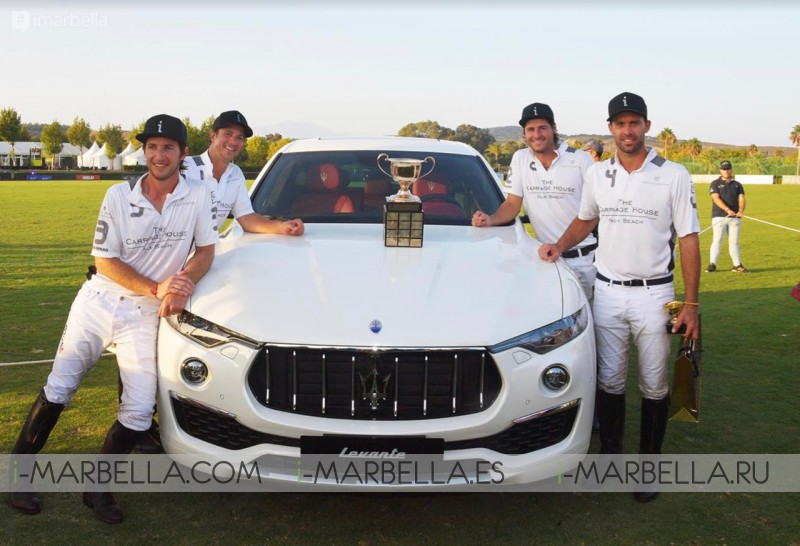 Who were the 47th International Polo Gold Cup 2018 winners? @ Sotogrande