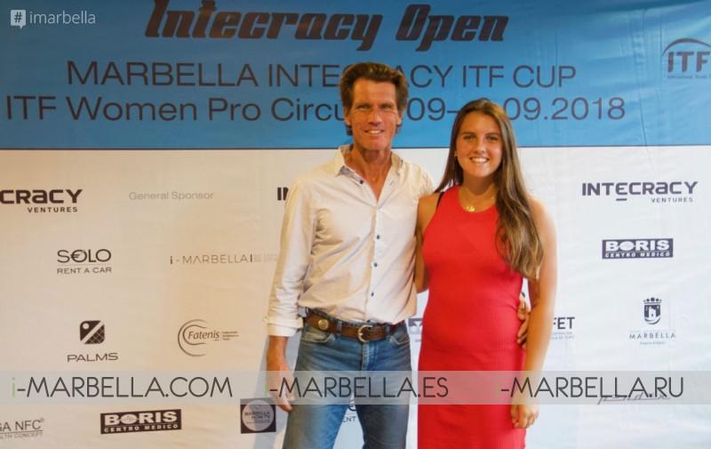 Gabriela Talaba and Claudia Hoste Ferrer win Marbella Intecracy ITF CUP 2018 @ Royal Tennis Club