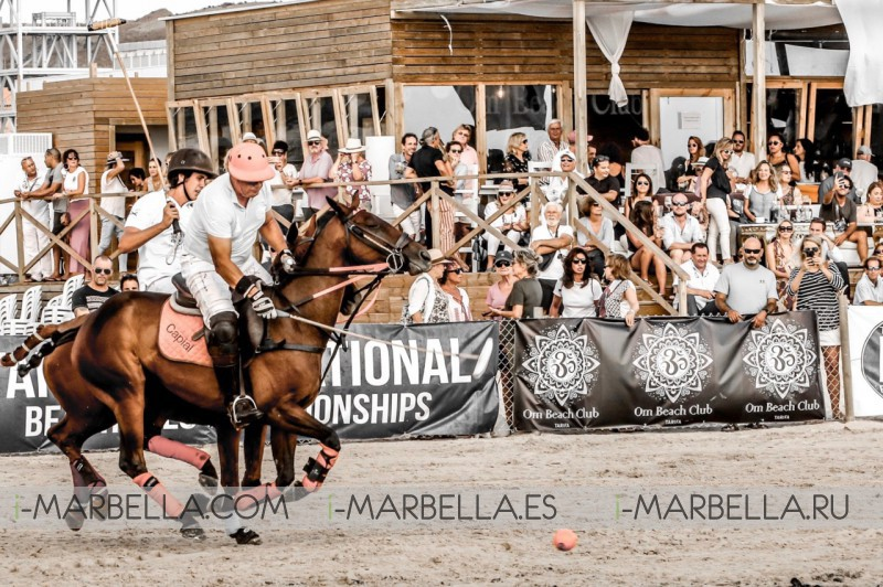 Gorgeous Isabel de Borbón celebration at the 5th Edition Tarifa Beach Polo 2018 Winners Gallery