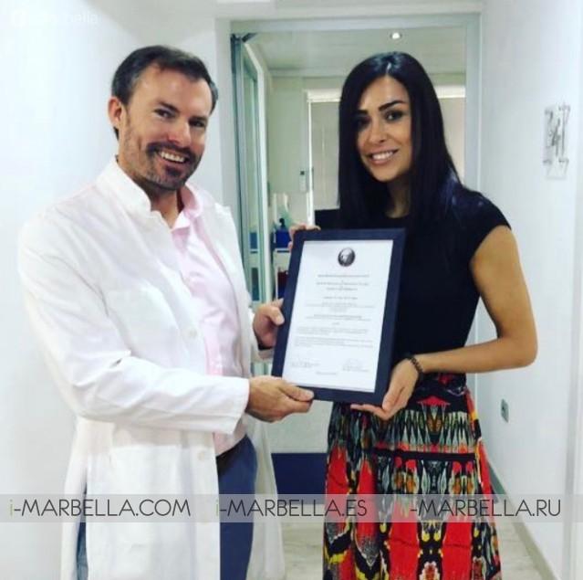 Ocean Clinic Dr. Kai Kaye Awarded As Best Plastic Surgery Resident  training center 2018