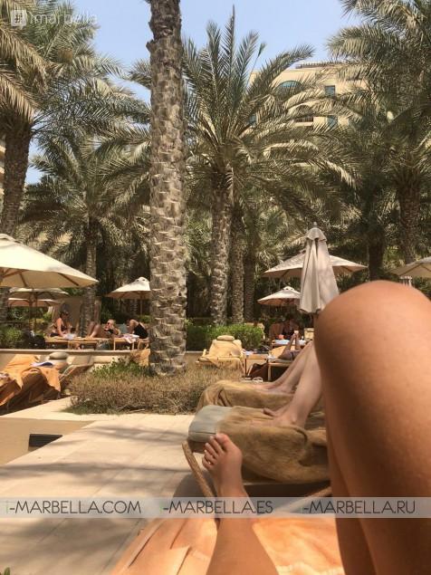 Karina Miller Blog 11: Visiting the icon Burj Al Arab, Dubai's infamous 7-star hotel.
