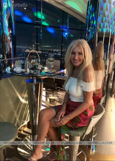 Karina Miller Blog 11: Visiting the icon Burj Al Arab, Dubai's infamous 7-star hotel.