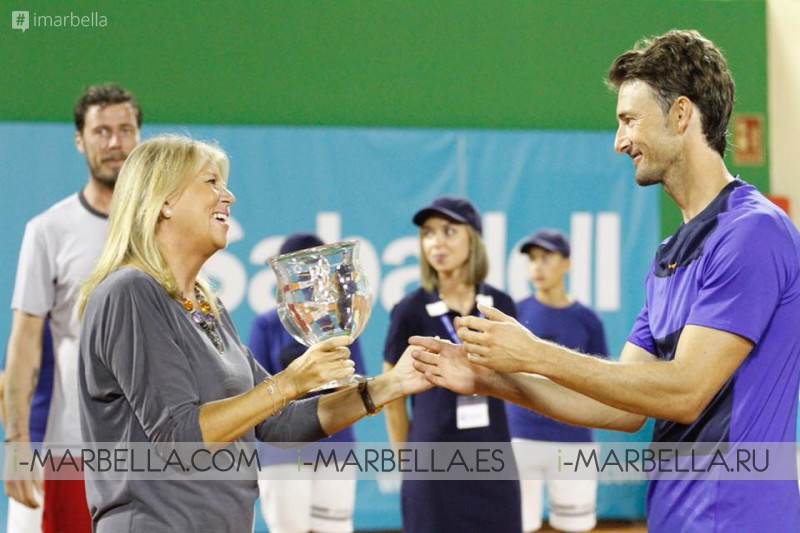 Ferrero is the Champion of the 3rd Senior Masters Cup Marbella, 2018 - Gallery