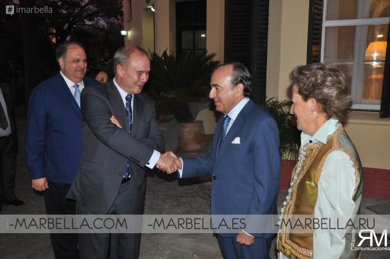 Fiesta del 12 de Octubre 2018 en el Consulado de España en Tánger