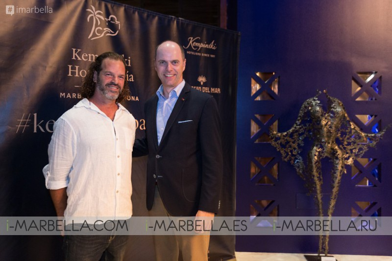 Nimrod Messeg amazing iron sculptures at the Kempinski Hotel Bahía, Marbella 2018 - Gallery