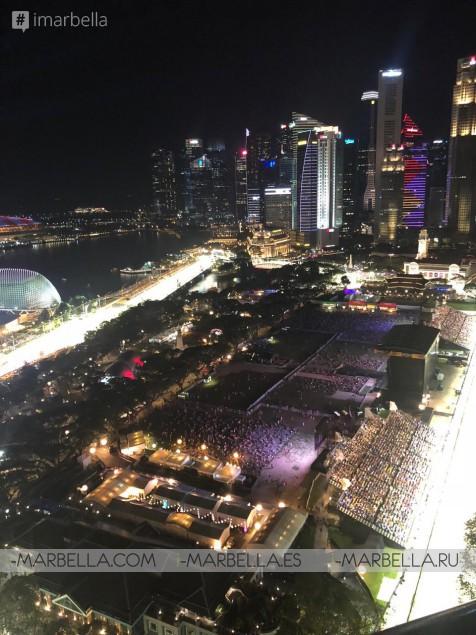 Karina Miller Blog 12: From Dubai to F1 Singapore GrandPrix here I come!!! 2018