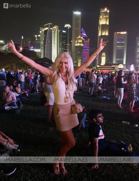 Karina Miller Blog 12: From Dubai to F1 Singapore GrandPrix here I come!!! 2018
