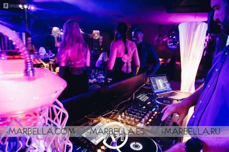 Ghosts and witches at the Halloween night of LØV Olivia Valere @ Marbella 2018 - Gallery
