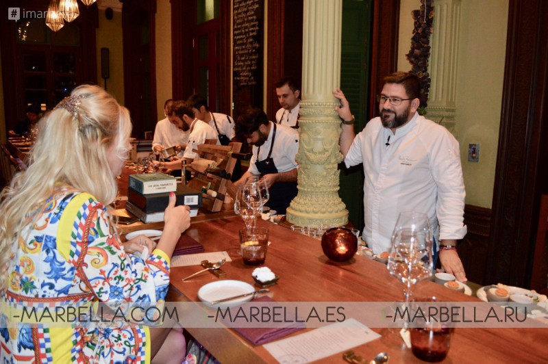 2-Michelin Star Chef Dani Garcia pop-up dinner in Bangkok 2018