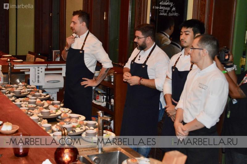 2-Michelin Star Chef Dani Garcia pop-up dinner in Bangkok 2018