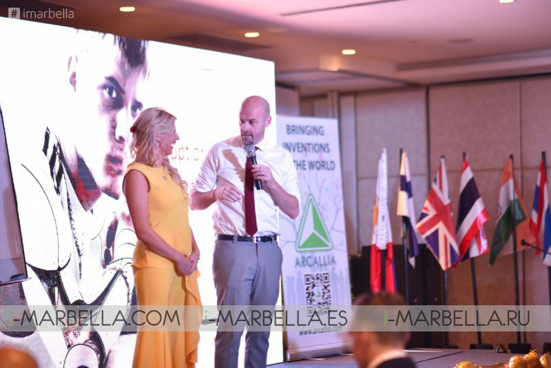 Honestum Est, Eesty Coin, Arcallia and Golden Stevia Celebrated together a successful first-year @Philippines 2018
