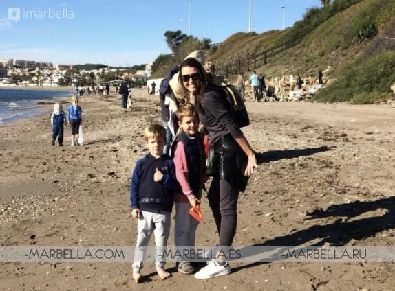 75 volunteers collect 400 kgs of rubbish @Plastic Free Seas Beach Clean Up Dec 2018