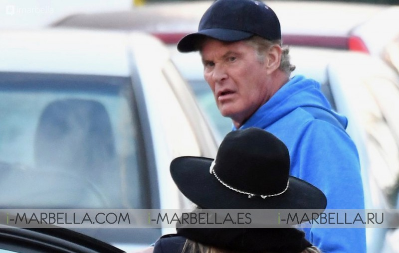 David Hasselhoff's Golden Toast Holiday in Marbella 2019