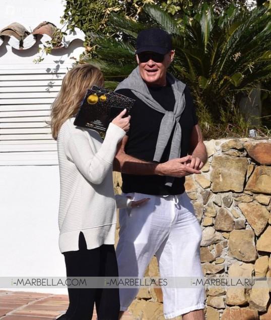 David Hasselhoff's Golden Toast Holiday in Marbella 2019