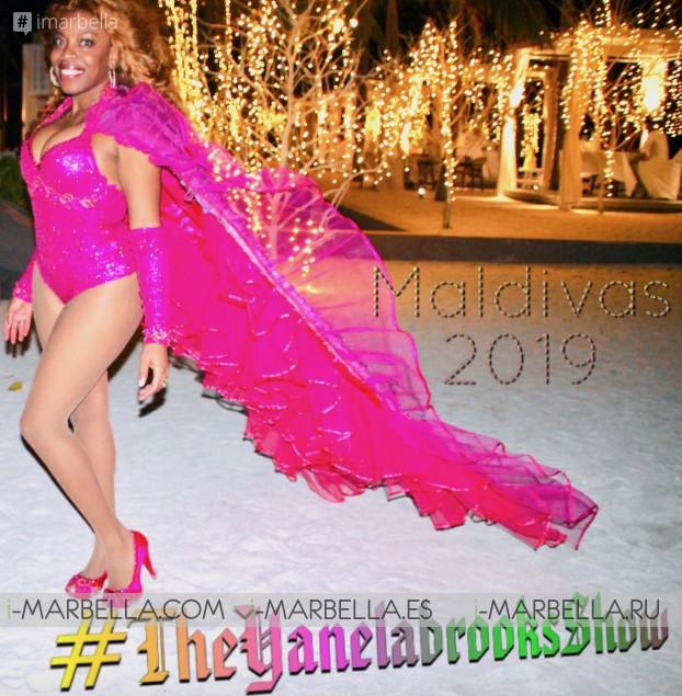 The Sensational Yanela Brooks Show in the Maldives New Year 2019