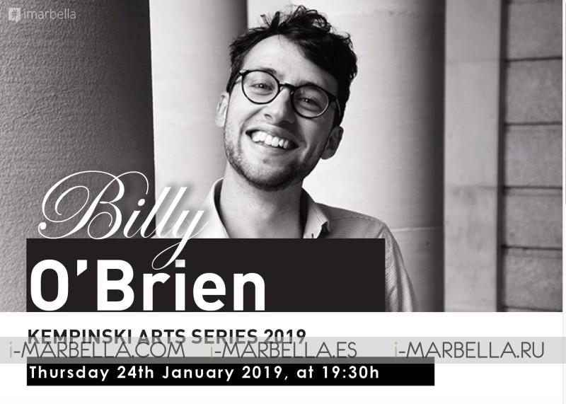 Billy O'Brien at Kempinski Hotel Bahía's Art Series 2019 @ Marbella 24th of January