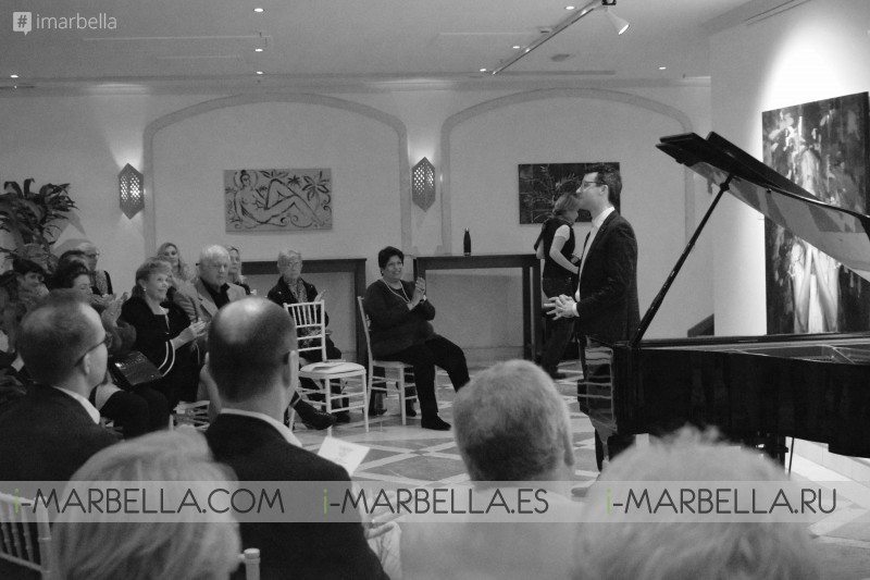 A marvelous play by Billy O'Brien @ Kempinski Hotel Bahía's Marbella 24th of January, 2019