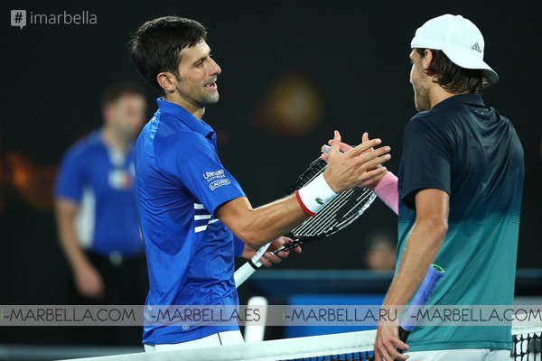 Djokovic's  wins the Australia Open with 2 perfect victories @ Australia 2019