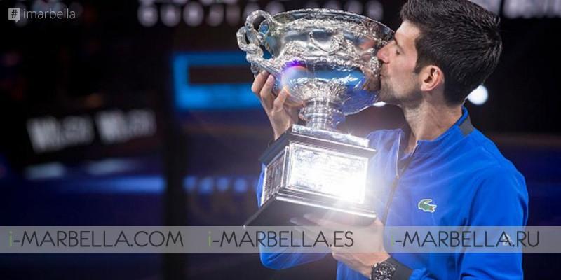 Djokovic's  wins the Australia Open with 2 perfect victories @ Australia 2019