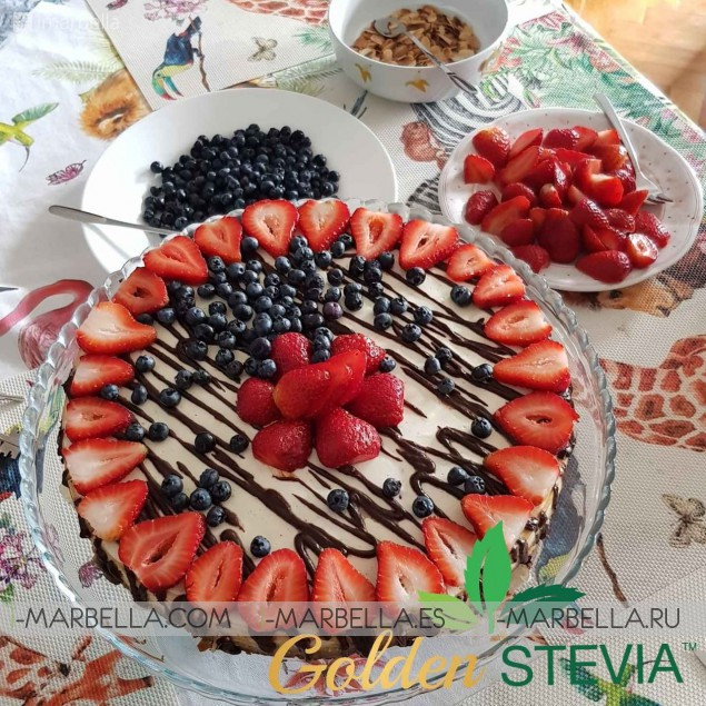 Annika's Blog: Golden Stevia- Healthy Sweet Life is 100% possible!