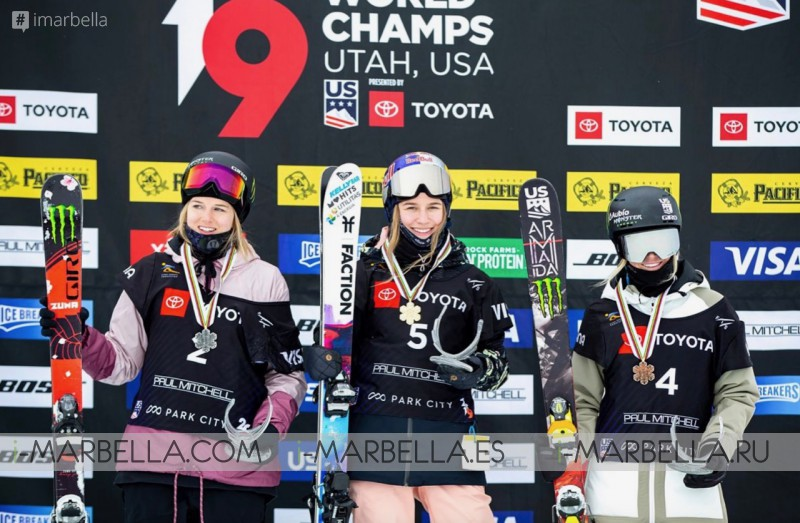 16 Years Old Estonian Kelly Sildaru shocks by winning at The 2019 Freestyle Ski World Championships