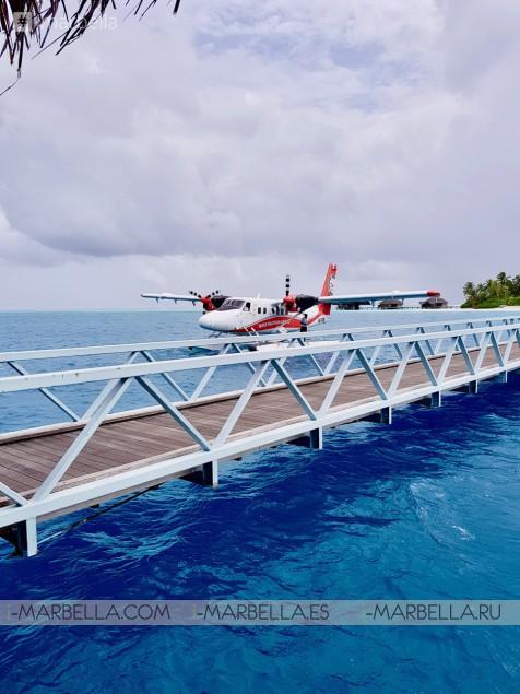 Annika's Blog: Dinner At A Undersea Restaurant Ithaa - Conrad Maldives Rangali Island.