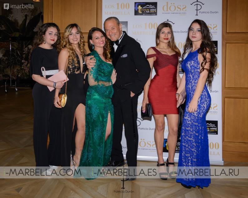 Patrica Duran Fashion Show at Oscar Horacio Los 100 Marbella Gala 15 March 2019