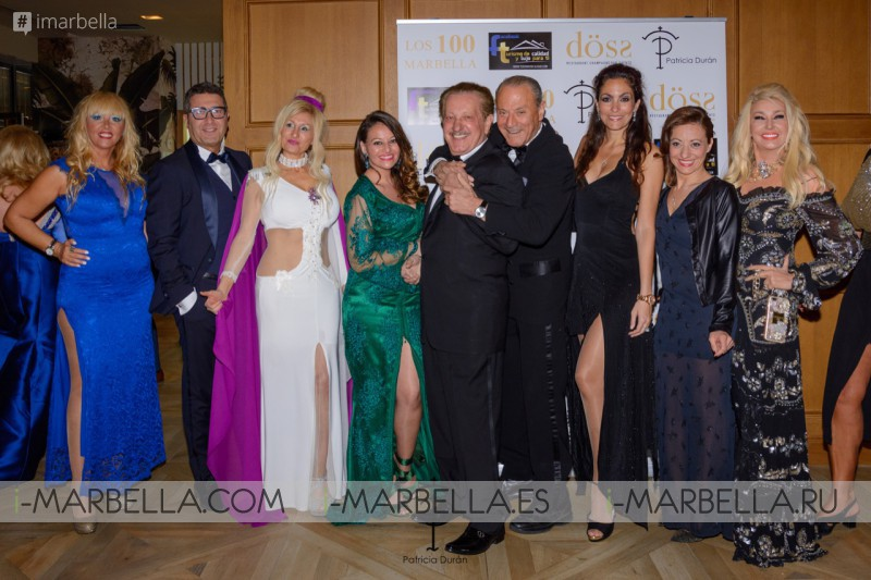 Patrica Duran Fashion Show at Oscar Horacio Los 100 Marbella Gala 15 March 2019