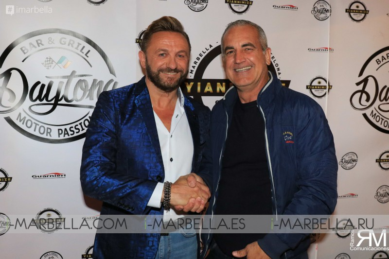 Daytona Motor Passion 1st Anniversary & Mario Guarnieri Birthday Party in Marbella March 2019
